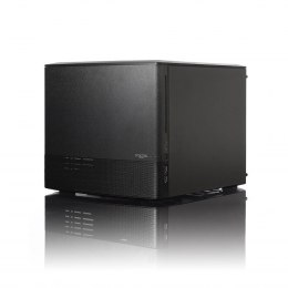Fractal Design NODE 804 Side window, 2 - USB 3.0Audio in/outPower button with LED (Biały)HDD activity LED (Biały), Black, Power