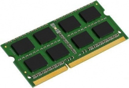 Kingston 8 GB, DDR3L, 204-pin SODIMM, 1600 MHz, Memory voltage 1.35 V, ECC No, Registered No