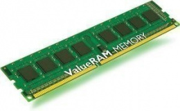 Kingston ValueRAM 4 GB, DDR3, 240-pin DIMM, 1600 MHz, Memory voltage 1.5 V