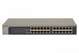 Netgear Switch JGS524E Web Management, Rack mountable, 1 Gbps (RJ-45) ports quantity 24, Power supply type Single