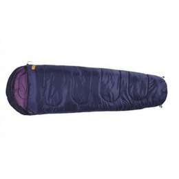 Easy Camp Cosmos Purple Junior sleeping bag, +22/+12(+8)/-5°C, 170x65(45)cm, 700g Easy Camp Cosmos