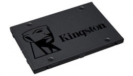 "Kingston A400 240 GB, SSD form factor 2.5"", SSD interface Serial ATA III, Write speed 350 MB/s, Read speed 500 MB/s"
