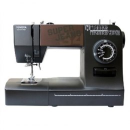 Sewing machine Toyota SUPERJ34 Black, Number of stitches 34, Number of buttonholes 1-4, Automatic threading