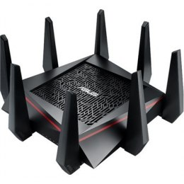 Asus Router RT-AC5300 10/100/1000 Mbit/s, Ethernet LAN (RJ-45) ports 4, 2.4GHz/5GHz/5GHz, Wi-Fi standards 802.11ac, 1000+2167+21