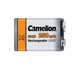 Akumulator Camelion 9V/6HR61, 250 mAh, Rechargeable Batteries Ni-MH, 1 pc(s)