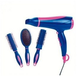 Hair Dryer DomoClip DOS123 Styling comb, 1900 - 2300 W, Blue/ pink