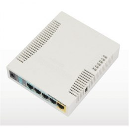 MikroTik RB951UI-2HnD Access Point Wi-Fi, 802.11b/g/n, 2.4 GHz, Web-based management, 0.867 Gbit/s, Power over Ethernet (PoE)