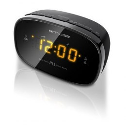 Muse Clock radio PLL M-150CR Black, Alarm function