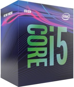Intel i5-9400, 2.9 GHz, LGA1151, Processor threads 6, Packing Retail, Cooler included, Processor cores 6, Component for PC