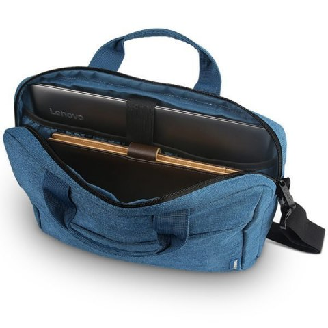"Torba do Laptopa Lenovo Casual Toploader T210 Fits up to size 15.6 "", Blue, Messenger - Briefcase"