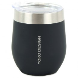 Yoko Design Isotherm mug with cup Isothermal, Black, Capacity 0.25 L, Yes