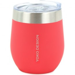 Yoko Design Isotherm mug with cup Isothermal, Red, Capacity 0.25 L, Yes
