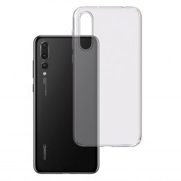 3MK Clear Case Back cover, Huawei, P20 Pro, TPU, Transparent