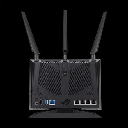 Asus WiFi Gaming Router GT-AC2900 802.11ac, 750+2167 Mbit/s, 10/100/1000 Mbit/s, Ethernet LAN (RJ-45) ports 4, Mesh Support No,