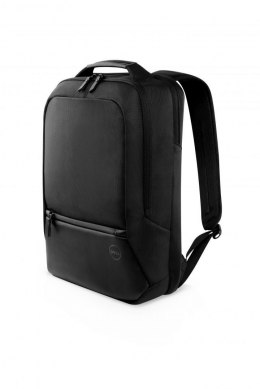 "Plecak do Laptopa Dell Premier Slim Fits up to size 15 "", Black with metal logo, Shoulder strap, Notebook carrying backpack"