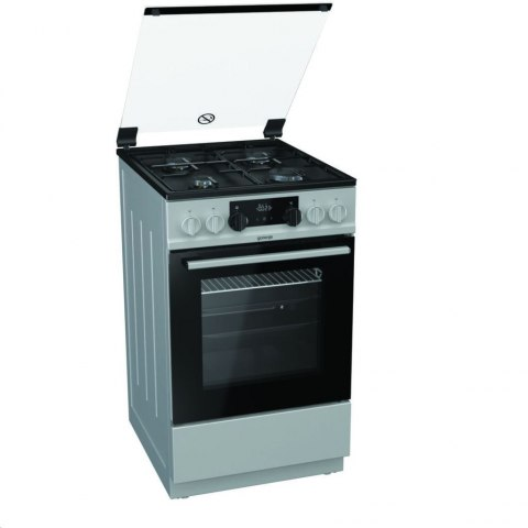 Gorenje Cooker 	K5341SJ Hob type Gas, Oven type Electric, Inox, Width 50 cm, Electronic ignition, Grilling, LED, 62 L, Depth 60