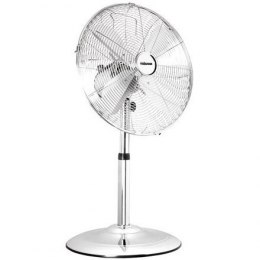 Tristar Stand fan VE-5952 Chrome, 30 W, Diameter 25 cm, Number of speeds 3, Oscillation