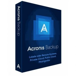 Acronis 1 year(s), Backup Advanced Workstation Subscription License