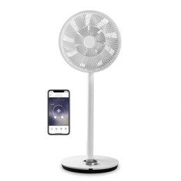 Duux Smart Fan Whisper Flex Stand Fan, Timer, Number of speeds 26, 3-27 W, Oscillation, Diameter 34 cm, White