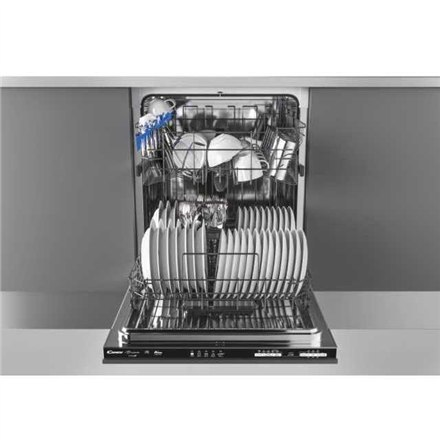 Candy Dishwasher CDIN 1L360PB Built-in, Width 59,8 cm, Number of place settings 13, Number of programs 5, A+, Display