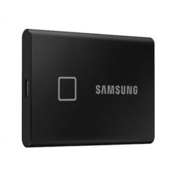 Samsung Portable SSD T7 2000 GB, USB 3.2, Black, with fingerprint and password security