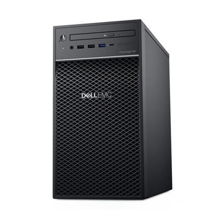 "Dell PowerEdge T40 Tower, Intel Xeon, E-2224G, 3.5 GHz, 8 MB, 4T, 4C, UDIMM DDR4, 2666 MHz, 1000 GB, Up to 3 x 3.5"", No OS, Warr"