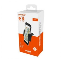 Acme PM2103 Black, Adjustable, 360 °, Clamp air vent smartphone car mount