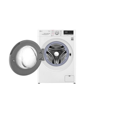 LG Washing machine F4WN408S0 Front loading, Washing capacity 8 kg, 1400 RPM, Direct drive, A+++ -30%, Depth 56 cm, Width 60 cm,