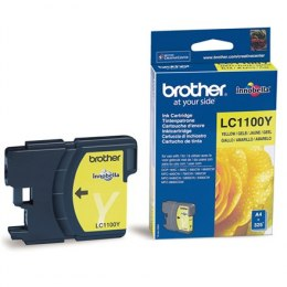 Brother LC1100Y Ink Cartridge YELLOW for MFC-6490CW/ 5890CN/ 6890CDW/ 490CW/ 990CW/ DCP-385C/ 585CW/ 6690CW Brother