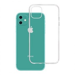 3MK Clear Case Back cover, Apple, iPhone XI Pro, TPU, Transparent