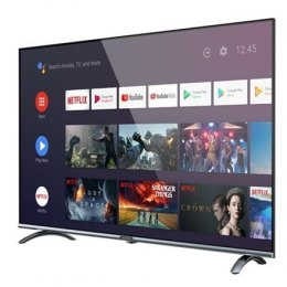 "Allview Smart TV 40ePlay6000-F/1 40"" (101 cm), Android 9.0 TV, FHD, 1920 x 1080 pixels, Wi-Fi, DVB-T/T2/C/S/S2, Silver/Black"