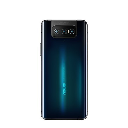 "Asus Zenfone 7 ZS670KS Black, 6.67 "", AMOLED, 1080 x 2400, Snapdragon 865, Internal RAM 8 GB, 128 GB, Dual SIM, 5G, 4G, Main cam"