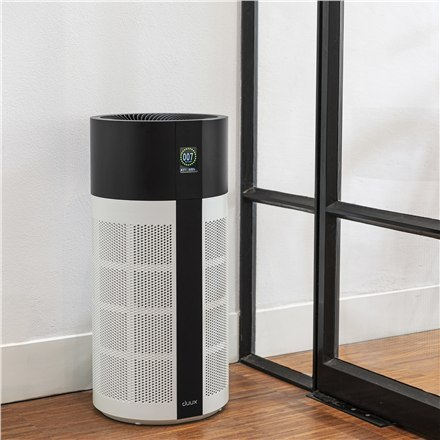 Duux Smart Air Purifier Tube White/Black, 10-55 W, Suitable for rooms up to 75 m²