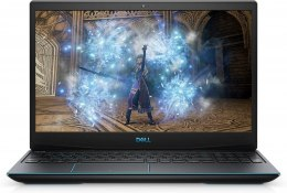 "Dell G3 15 3500 Black/Blue logo, 15.6 "", WVA, Full HD, 1920 x 1080, Matt, Intel Core i7, i7-10750H, 8 GB, DDR4, SSD 512 GB, NVID"