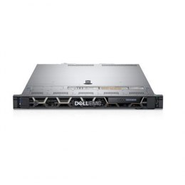 Dell PowerEdge R440 Rack (1U), Intel Xeon, 1x Silver 4214, 2.2 GHz, 16.5 MB, 24T, 12C, RDIMM, 2666 MHz, No RAM, No HDD, Up to 8
