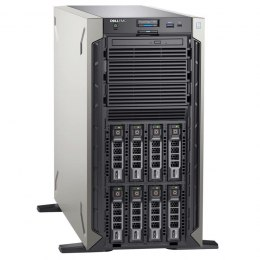 "Dell PowerEdge T340 Tower, Intel Xeon, E-2234, 3.6 GHz, 8 MB, 8T, 4C, UDIMM DDR4, 2666 MHz, No RAM, No HDD, Up to 8 x 3.5"", Hot-"
