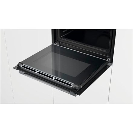 Bosch Oven HBG632BB1S Multifunctional, 71 L, Black, activeClean pyrolysis, Rotary switch, Height 59,5 cm, Width 59,5 cm, Integra