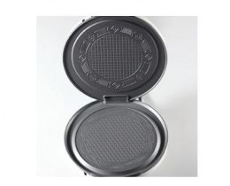 CLoer 0271 Black, Biały, 800 W, Circle, Number of waffles 1