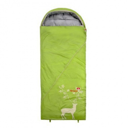 Gruezi-Bag Cloud Decke Deluxe sleeping bag  +4/-1/-17°C, 225x80, 1290g. Right zipper Gruezi-Bag Cloud Decke Deluxe, Right side