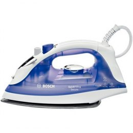 Iron Bosch QuickFilling TDA2377 Biały/Purple, 2200 W, With cord, Continuous steam 25 g/min, Steam boost performance 90 g/min, Au