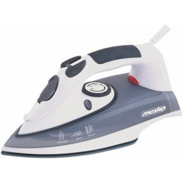 Iron Mesko MS 5016 Grey/Biały, 2000 W, With cord, Anti-scale system, Vertical steam function