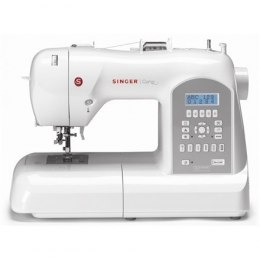 Sewing machine Singer Curvy SMC 8770 Silver/Biały, Number of stitches 225, Number of buttonholes 7