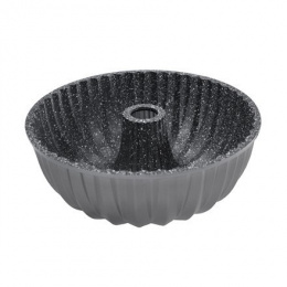 Stoneline Bundt cake baking pan 8023 Silver grey, Non-stick coating,