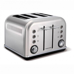 Toaster Morphy richards 242026 Stainless steel, Stainless steel, 1880 W, Number of slots 4, Number of power levels 7,