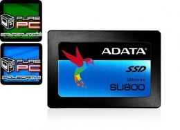 "ADATA Ultimate SU800 256 GB, SSD form factor 2.5"", SSD interface Serial ATA III, Read speed 560 MB/s, Write speed 520 MB/s"