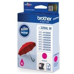 Brother LC-225XLM Ink Cartridge, Magenta
