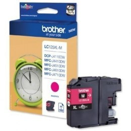 Brother LC125XLM Ink Cartridge, Magenta