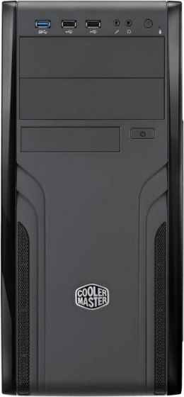 Cooler Master Force 500 USB 3.0 x1, USB 2.0 x2, Mic x1, Spk x1, Black, Midle-Tower, Power supply included No