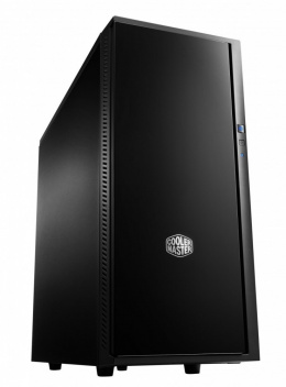 Cooler Master Silencio 452 USB 3.0 x2, USB 2.0 x1, Mic x 1, Spk x1, SD card reader x1, Black, Midle-Tower, Power supply included