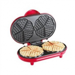 DomoClip Waffle maker DOP144 1000 W, Dual heart, Number of waffles 2